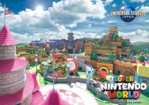 任天堂エリア「SUPER NINTENDO WORLD」の場所や広さ・作られるアトラクションは?