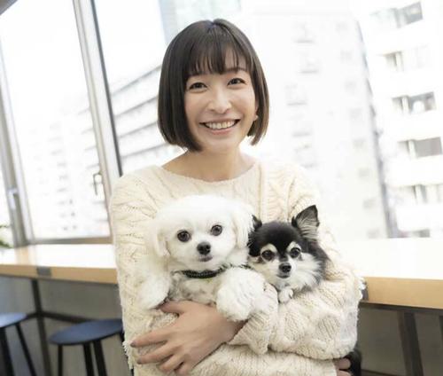 小野真弓は愛犬が好き過ぎてトリマーになっていた!